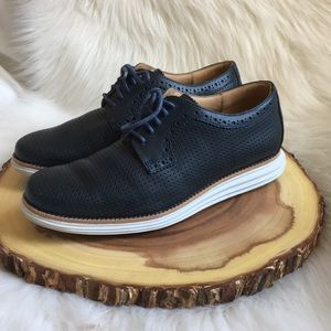 Cole Haan lunarlon lunargrand leather shoes